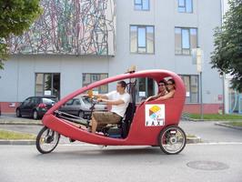 Rikscha-Shuttle-Taxi in Krems